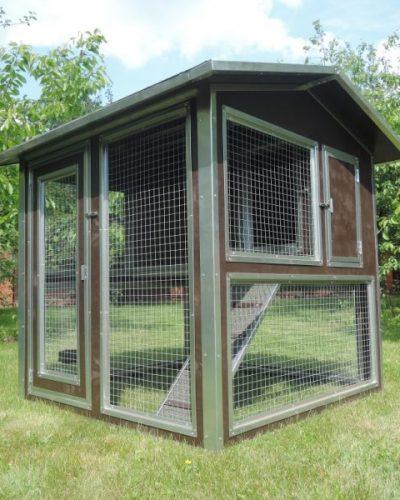 Фото 8 - Утепленный домик с выгулом Мечта (Курятник) на 10 кур.