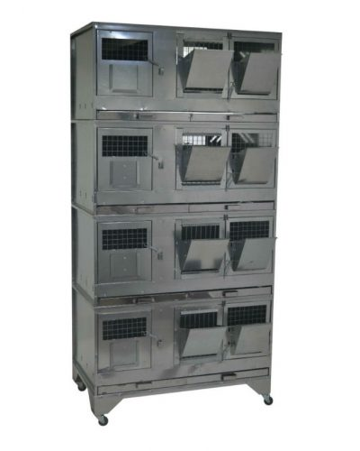 Фото 35 - Клетка для кроликов с маточным отделением Профессионал 95-КМ-4 Престиж.