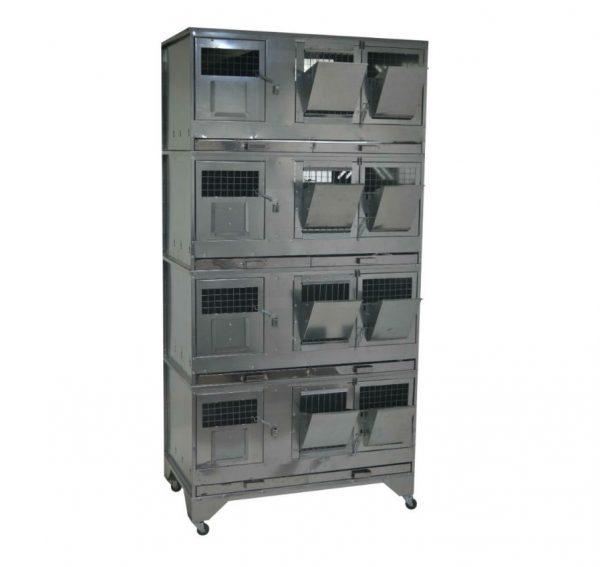 Клетка для кроликов с маточным отделением Профессионал 95-КМ-4