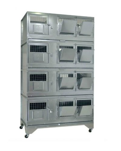 Фото 12 - Клетка для кроликов с маточным отделением Профессионал 95-КМ-4 Стандарт.