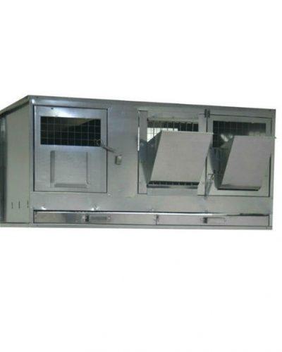 Фото 4 - Клетка для кроликов с маточным отделением Профессионал 95-КМ-1 Премиум.