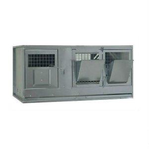 Фото 19 - Клетка для кроликов с маточным отделением Профессионал 95-КМ-1 Стандарт.