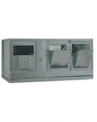 Фото 2 - Клетка для кроликов с маточным отделением Профессионал 95-КМ-1 Стандарт.