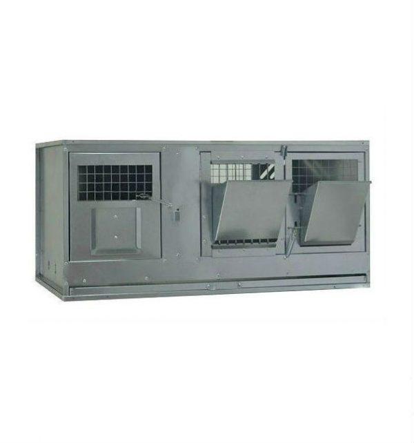 Фото 1 - Клетка для кроликов с маточным отделением Профессионал 95-КМ-1 Стандарт.
