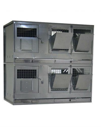 Фото 4 - Клетка для кроликов с маточным отделением Профессионал 95-КМ-2 Престиж.