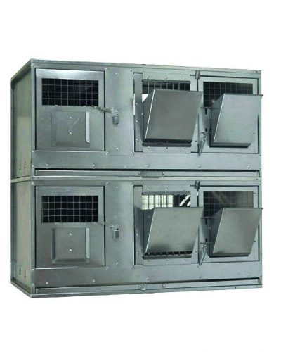 Фото 16 - Клетка для кроликов с маточным отделением Профессионал 95-КМ-2 Стандарт.