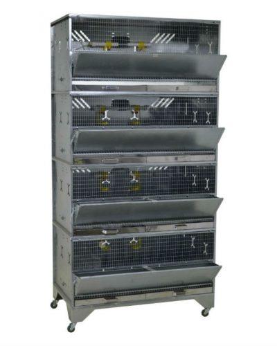 Фото 12 - Клетка для бройлеров Профессионал 4-12 Премиум.