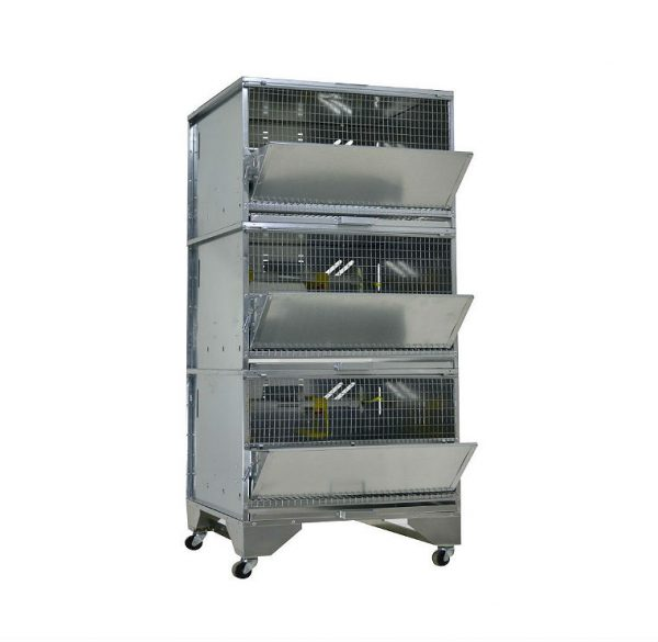 Фото 1 - Клетка для бройлеров Профессионал 3-7 Стандарт.