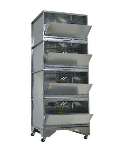 Фото 40 - Клетка для бройлеров Профессионал 4-7 Стандарт.
