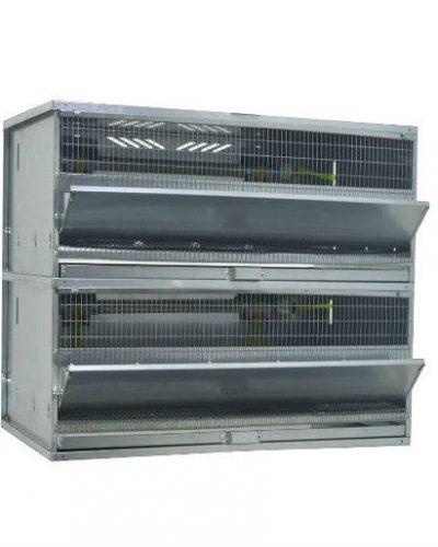 Фото 7 - Клетка для перепелов бройлерная Профессионал+ на 100 голов Стандарт.