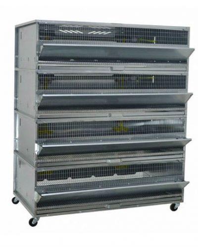 Фото 40 - Клетка для перепелов бройлерная Профессионал+ на 200 голов 1-4 Стандарт.