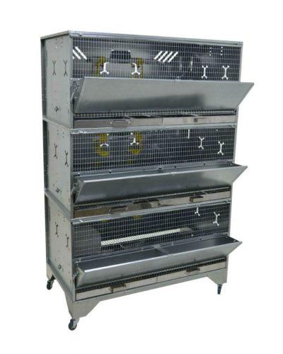 Фото 9 - Клетка для бройлеров Профессионал 3-12 Премиум.