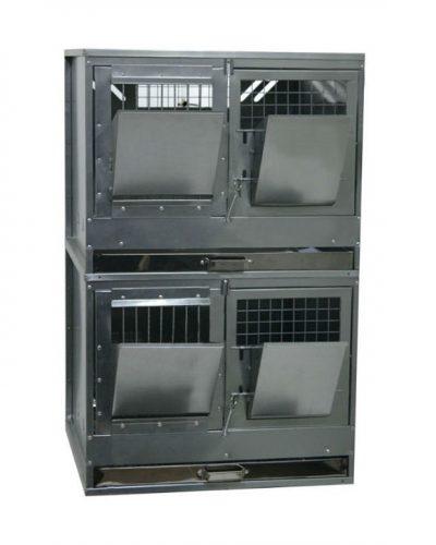 Фото 3 - Клетка для откорма кроликов Профессионал 55-КО-2 Премиум.