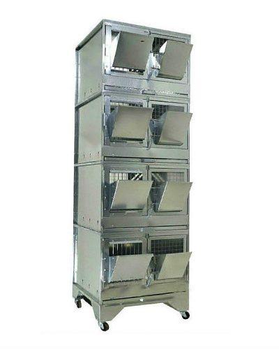 Фото 9 - Клетка для откорма кроликов Профессионал 55-КO-4 Стандарт.