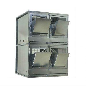 Фото 25 - Клетка для откорма кроликов Профессионал 55-КО-2 Стандарт.