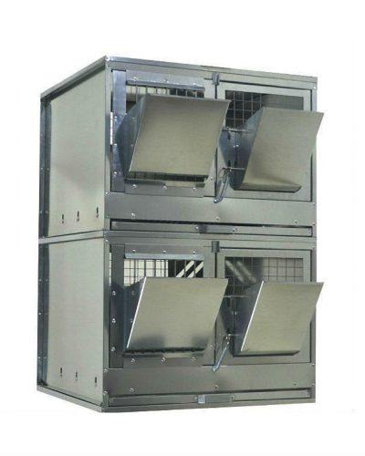 Фото 9 - Клетка для откорма кроликов Профессионал 55-КО-2 Стандарт.