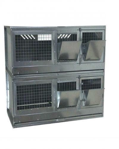 Фото 6 - Клетка для откорма кроликов Профессионал 95-КО-2 Стандарт.