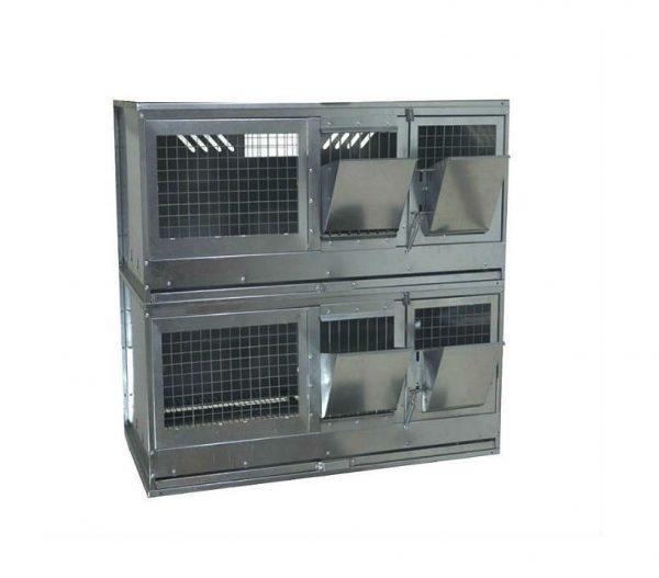 Фото 1 - Клетка для откорма кроликов Профессионал 95-КО-2 Премиум.