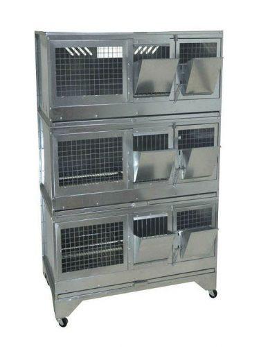 Фото 22 - Клетка для откорма кроликов Профессионал 95-КО-3 Стандарт.