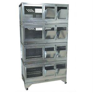Клетка для откорма кроликов Профессионал 95-КО-4