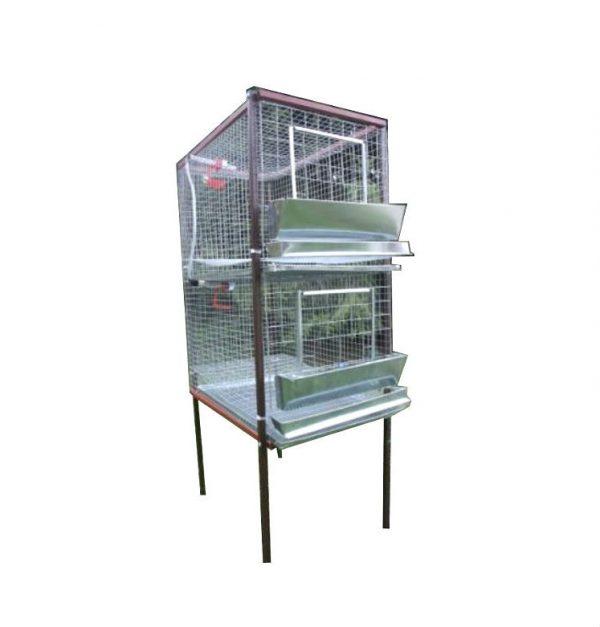 Фото 1 - Клетка для кур-несушек или бройлеров 1-2.